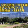 【12月3週目】南アフリカランド/円のFX収支報告(+8,897円)