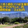 【1月1週目】南アフリカランド/円のFX収支報告(+3,636円)