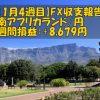 【1月4週目】南アフリカランド/円のFX収支報告(+8,679円)